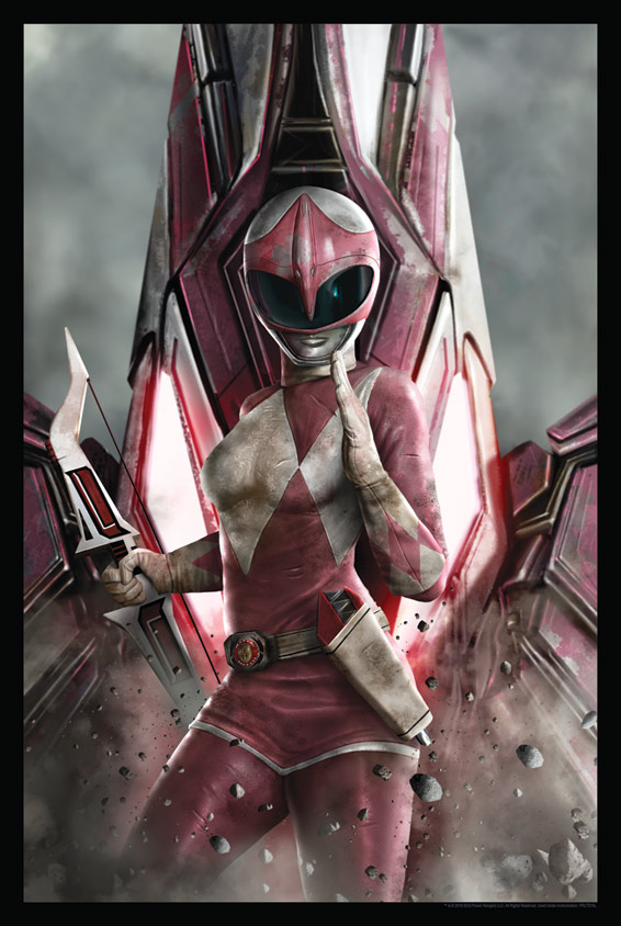 Pink Ranger by Carlos Dattoli