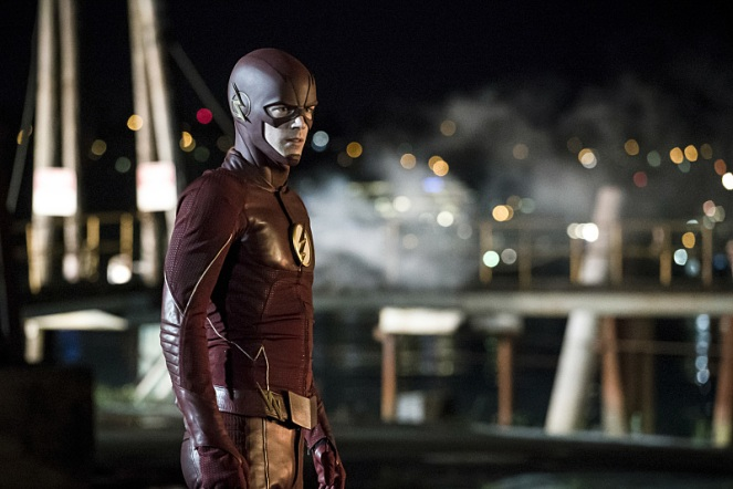 "The Flash -- ""Flashpoint"" -- Image: FLA301a_0079b.jpg -- Pictured: Grant Gustin as The Flash -- Photo: Katie Yu/The CW -- © 2016 The CW Network, LLC. All rights reserved."