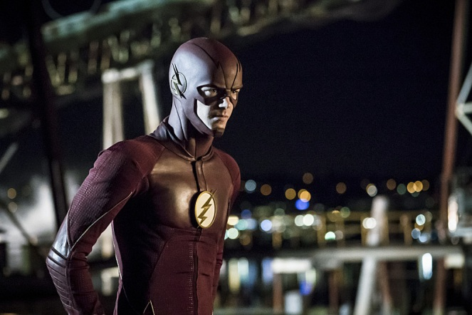 "The Flash -- ""Flashpoint"" -- Image: FLA301a_0182b.jpg -- Pictured: Grant Gustin as The Flash -- Photo: Katie Yu/The CW -- © 2016 The CW Network, LLC. All rights reserved."