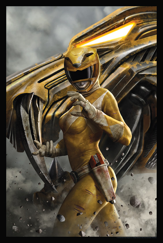 Yellow Ranger by Carlos Dattoli