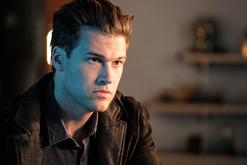 """DC's Legends of Tomorrow --""""Out Of Time """"-- Image LGN201b_0233.jpg Pictured: Nick Zano as Nate Heywood -- Photo: Robert Falconer/The CW -- © 2016 The CW Network, LLC. All Rights Reserved."""