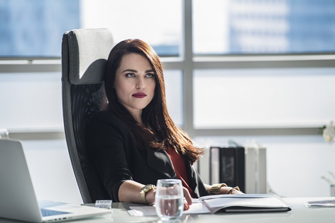 "Supergirl -- ""The Adventures Of Supergirl"" -- Image SPG201a_0042 -- Pictured: Katie McGrath as Lena Luthor -- Photo: Diyah Pera/The CW -- © 2016 The CW Network, LLC. All Rights Reserved"