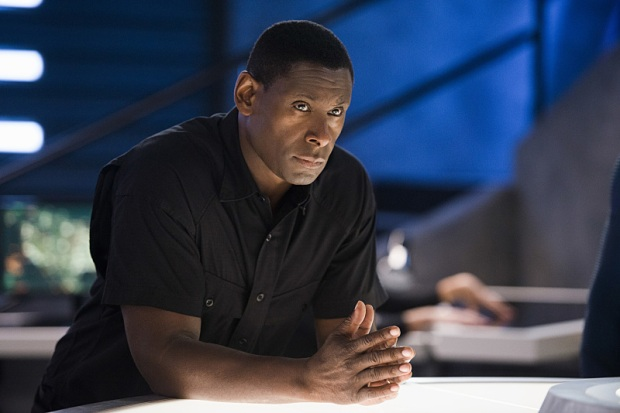 "Supergirl -- ""The Last Children of Krypton"" -- Image SPG202b_0332 -- Pictured: David Harewood as Hank Henshaw -- Photo: Diyah Pera/The CW -- © 2016 The CW Network, LLC. All Rights Reserved"