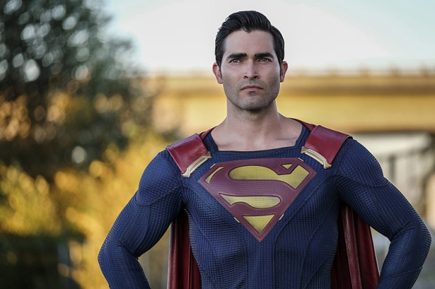 "Supergirl -- ""The Last Children of Krypton"" -- Image SPG202a_0169 -- Pictured: Tyler Hoechlin as Clark/Superman -- Photo: Robert Falconer/The CW -- © 2016 The CW Network, LLC. All Rights Reserved"