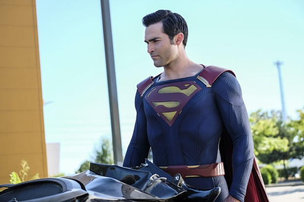 "Supergirl -- ""The Last Children of Krypton"" -- Image SPG202a_0073 -- Pictured: Tyler Hoechlin as Clark/Superman -- Photo: Robert Falconer/The CW -- © 2016 The CW Network, LLC. All Rights Reserved"