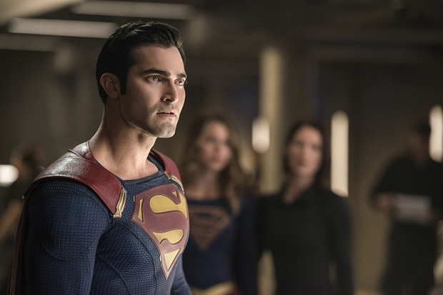 "Supergirl -- ""The Last Children of Krypton"" -- Image SPG202b_0087 -- Pictured: Tyler Hoechlin as Clark/Superman -- Photo: Diyah Pera/The CW -- © 2016 The CW Network, LLC. All Rights Reserved"