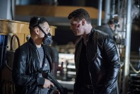"""Arrow -- """"A Matter Of Trust"""" -- Image AR503A_0136b.jpg --- Pictured: Cody Runnels as Derek Sampson -- Photo: Diyah Pera/The CW -- © 2016 The CW Network, LLC. All Rights Reserved."""