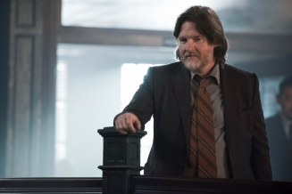"GOTHAM: Donal Logue in the""Mad City: Anything For You"" episode of GOTHAM airing Monday, Oct. 17 (8:00-9:01 PM ET/PT) on FOX. ©2016 Fox Broadcasting Co. Cr: Jeff Neumann/FOX."