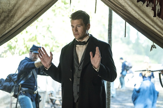 "DC's Legends of Tomorrow --""Abominations""-- Image LGN204b_0086.jpg -- Pictured: Nick Zano as Nate Heywood-- Photo: Katie Yu/The CW -- © 2016 The CW Network, LLC. All Rights Reserved."