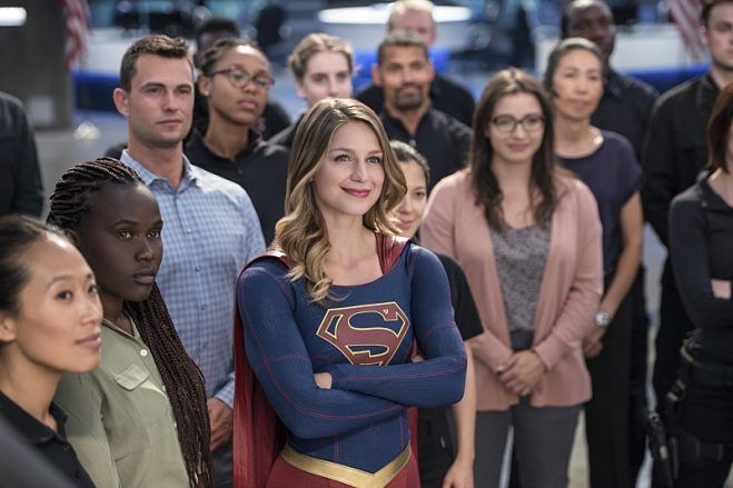 "Supergirl -- ""Welcome to Earth"" -- Image SPG203c_0402 -- Pictured: Melissa Benoist as Kara/Supergirl -- Photo: Diyah Pera/The CW -- © 2016 The CW Network, LLC. All Rights Reserved"