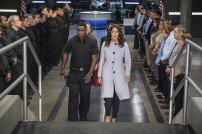 """Supergirl -- """"Welcome to Earth"""" -- Image SPG203c_0174 -- Pictured (L-R): David Harewood as Hank Henshaw, Melissa Benoist as Kara/Supergirl, Chyler Leigh as Alex Danvers, and Lynda Carter as President Olivia Marsdin -- Photo: Diyah Pera/The CW -- © 2016 The CW Network, LLC. All Rights Reserved"""