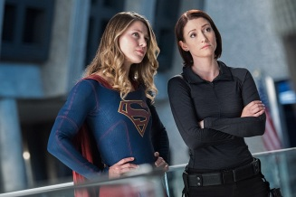"Supergirl -- ""Survivors"" -- Image SPG204c_0006 -- Pictured (L-R): Melissa Benoist as Kara/Supergirl and Chyler Leigh as Alex Danvers - Photo: Dean Buscher/The CW -- © 2016 The CW Network, LLC. All Rights Reserved"