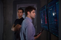 "Supergirl -- ""Survivors"" -- Image SPG204a_0107 -- Pictured (L-R): Chris Wood as Mike/Mon-El and Jeremy Jordan as Winn Schott - Photo: Diyah Pera/The CW -- © 2016 The CW Network, LLC. All Rights Reserved"