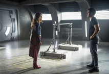 "Supergirl -- ""Survivors"" -- Image SPG204a_0143 -- Pictured (L-R): Melissa Benoist as Kara/Supergirl and Chris Wood as Mike/Mon-El - Photo: Diyah Pera/The CW -- © 2016 The CW Network, LLC. All Rights Reserved"