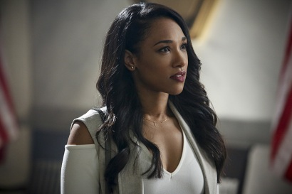 "The Flash -- ""Magenta"" -- Image: FLA303b_0040b.jpg -- Pictured: Candice Patton as Iris West -- Photo: Bettina Strauss/The CW -- © 2016 The CW Network, LLC. All rights reserved."