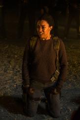 Sonequa Martin-Green as Sasha Williams - The Walking Dead _ Season 7, Episode 1 - Photo Credit: Gene Page/AMC
