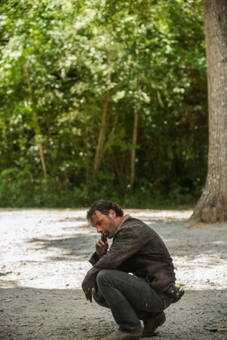 Andrew Lincoln as Rick Grimes - The Walking Dead _ Season 7, Episode 1 - Photo Credit: Gene Page/AMC