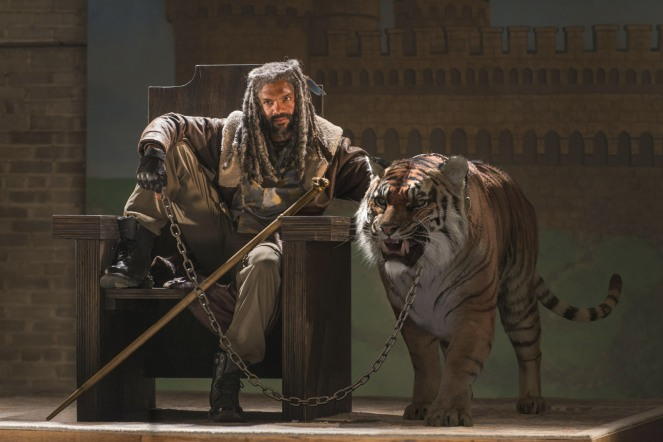 Khary Payton as Ezekiel - The Walking Dead _ Season 7, Episode 3 - Photo Credit: Gene Page/AMC