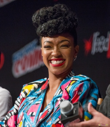 Pictured: Sonequa Martin-Green. © 2016 GiGi Carrascosa/We Geek Girls. All rights reserved.