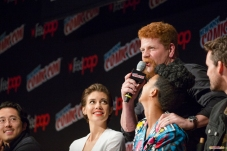 Pictured: Michael Cudlitz, Sonequa Martin-Green and Lauren Cohan. © 2016 GiGi Carrascosa/We Geek Girls. All rights reserved.