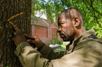 Lennie James as Morgan Jones - The Walking Dead _ Season 7, Episode 2 - Photo Credit: Gene Page/AMC