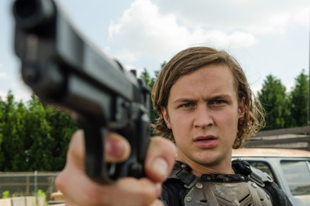 Logan Miller as Benjamin - The Walking Dead _ Season 7, Episode 2 - Photo Credit: Gene Page/AMC