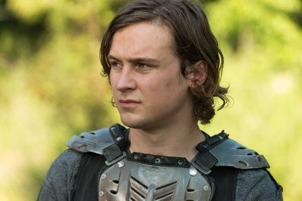 Logan Miller as Benjamin- The Walking Dead _ Season 7, Episode 2 - Photo Credit: Gene Page/AMC