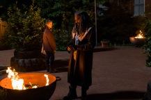 Khary Payton as Ezekiel, Melissa McBride as Carol Peletier- The Walking Dead _ Season 7, Episode 2 - Photo Credit: Gene Page/AMC
