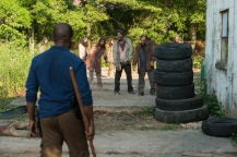Lennie James as Morgan Jones- The Walking Dead _ Season 7, Episode 2 - Photo Credit: Gene Page/AMC