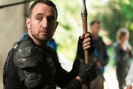 Carlos Navarro as Alvaro- The Walking Dead _ Season 7, Episode 2 - Photo Credit: Gene Page/AMC