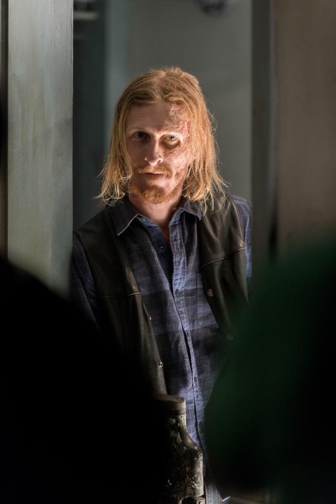 Austin Amelio as Dwight- The Walking Dead _ Season 7, Episode 3 - Photo Credit: Gene Page/AMC