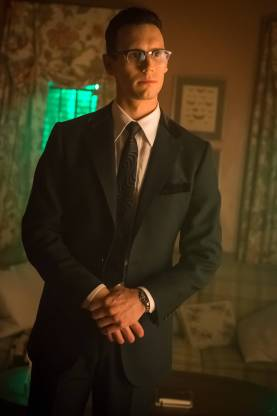 GOTHAM: Cory Michael Smith in the ÒMad City: Red QueenÓ episode of GOTHAM airing ÒMad City: Blood RushÓ episode of GOTHAM airing Monday, Nov. 7 (8:00-9:01 PM ET/PT) on FOX. Cr: Nicole Rivelli/FOX.