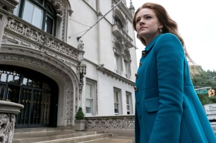"""GOTHAM: Guest star Maggie Geha in the """"Mad City: Executioner"""" episode of GOTHAM airing Monday, Nov. 14 (8:00-9:01 PM ET/PT) on FOX. ©2016 Fox Broadcasting Co. Cr: Jeff Neumann/FOX"""
