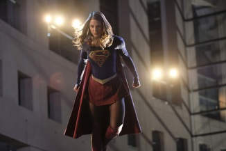 """Supergirl -- """"Crossfire"""" -- Image SPG205a_0158 -- Pictured: Melissa Benoist as Kara/Supergirl -- Photo: Robert Falconer /The CW -- © 2016 The CW Network, LLC. All Rights Reserved"""