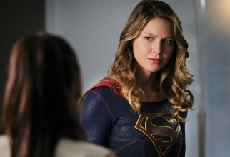 """Supergirl -- """"Crossfire"""" -- Image SPG205b_0209 -- Pictured: Melissa Benoist as Kara/Supergirl -- Photo: Robert Falconer /The CW -- © 2016 The CW Network, LLC. All Rights Reserved"""