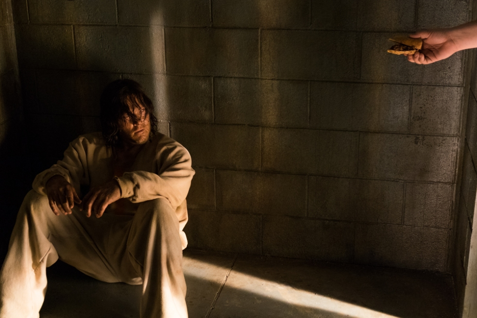 Norman Reedus as Daryl Dixon- The Walking Dead _ Season 7, Episode 3 - Photo Credit: Gene Page/AMC