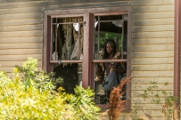 Danai Gurira as Michonne - The Walking Dead _ Season 7, Episode 4 - Photo Credit: Gene Page/AMC