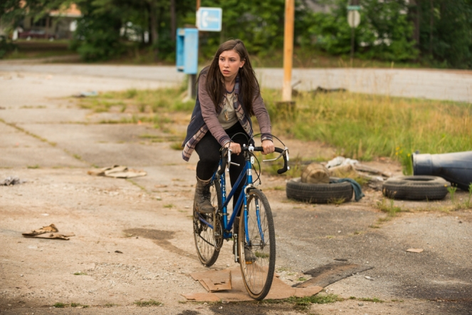 Katelyn Nacon as Enid - The Walking Dead _ Season 7, Episode 5 - Photo Credit: Gene Page/AMC