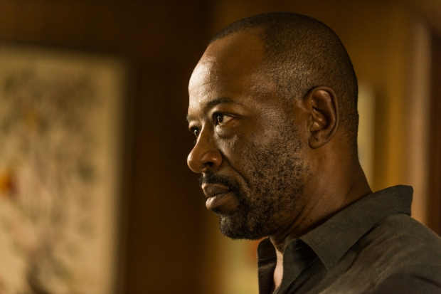 Lennie James as Morgan Jones - The Walking Dead _ Season 7, Episode 8 - Photo Credit: Gene Page/AMC