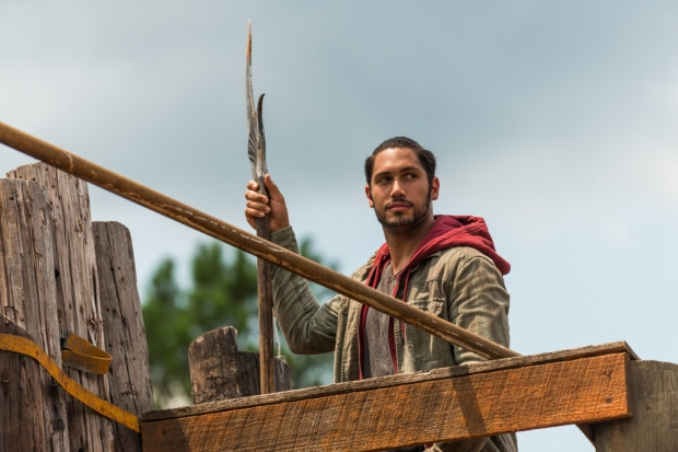 Peter Zimmerman as Eduardo- The Walking Dead _ Season 7, Episode 8 - Photo Credit: Gene Page/AMC
