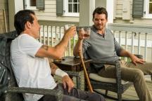 Jeffrey Dean Morgan as Negan, Austin Nichols as Spencer Monroe- The Walking Dead _ Season 7, Episode 8 - Photo Credit: Gene Page/AMC
