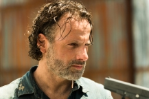 Andrew Lincoln as Rick Grimes- The Walking Dead _ Season 7, Episode 8 - Photo Credit: Gene Page/AMC