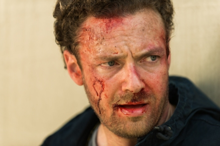 Ross Marquand as Aaron- The Walking Dead _ Season 7, Episode 8 - Photo Credit: Gene Page/AMC