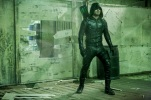 """Arrow -- """"Who Are You?"""" -- Image AR510b_0127b.jpg -- Pictured: Stephen Amell as Green Arrow -- Photo: Bettina Strauss/The CW -- © 2016 The CW Network, LLC. All Rights Reserved."""