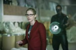 """Arrow -- """"Who Are You?"""" -- Image AR510b_0184b.jpg -- Pictured: Emily Bett Rickards as Felicity Smoak and Echo Kellum as Curtis Holt/Mr.Terrific -- Photo: Bettina Strauss/The CW -- © 2016 The CW Network, LLC. All Rights Reserved."""