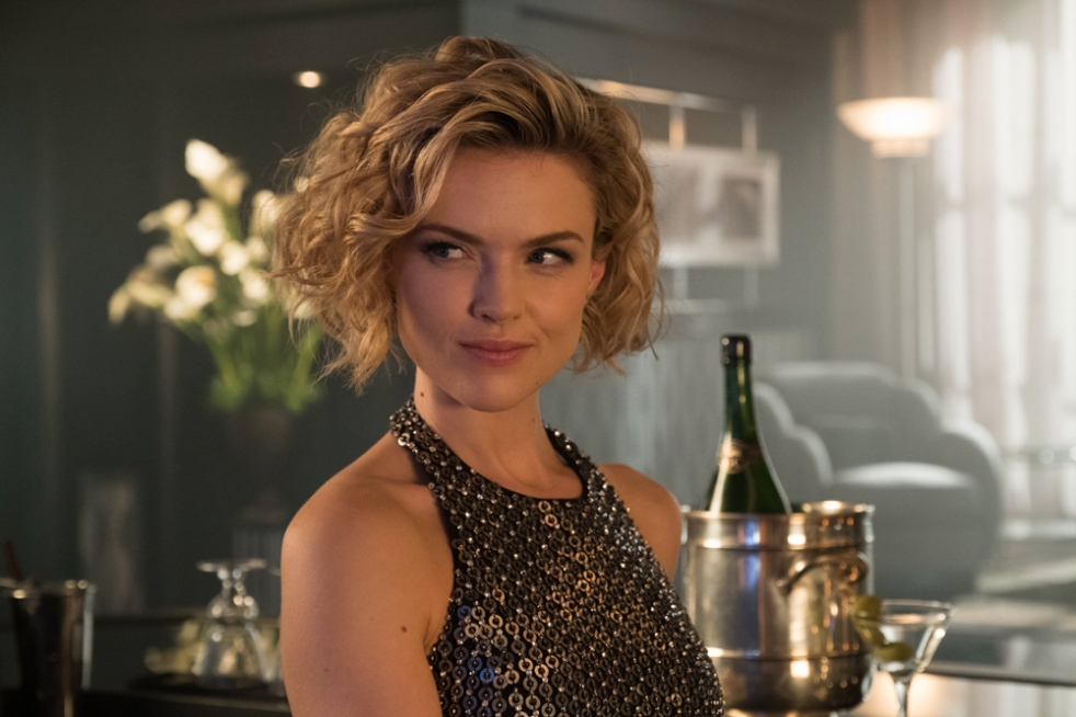 """GOTHAM: Erin Richards in the """"Mad City: Smile Like You Mean It"""" episode of GOTHAM airing Monday, Jan. 23 (8:00-9:01 PM ET/PT) on FOX. Cr: Jessica Miglio/FOX."""
