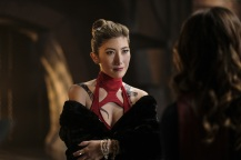 """Supergirl -- """"Supergirl Lives"""" -- Image SPG209b_0140.jpg -- Pictured: Dichen Lachman as Roulette -- Photo: Robert Falconer/The CW -- © 2017 The CW Network, LLC. All Rights Reserved"""
