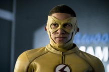 """The Flash -- """"Borrowing Problems from the Future"""" -- Image FLA310a_0045b.jpg -- Pictured: Keiynan Lonsdale as Kid Flash -- Photo: Katie Yu/The CW -- © 2016 The CW Network, LLC. All rights reserved."""