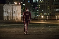 "The Flash -- ""Borrowing Problems from the Future"" -- Image FLA310a_0162b.jpg -- Pictured: Grant Gustin as The Flash -- Photo: Katie Yu/The CW -- © 2016 The CW Network, LLC. All rights reserved."
