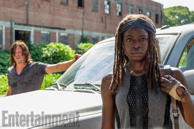 Norman Reedus as Daryl Dixon, Danai Gurira as Michonne